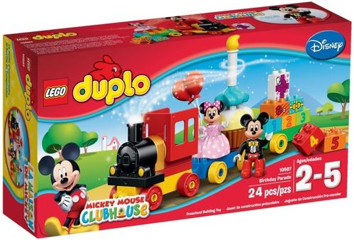 10597 La parade d'anniversaire de Mickey et Minnie (Duplo) (Mickey Mouse Clubhouse) (Disney)