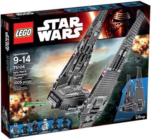 75104 Kylo Ren's Command Shuttle (Star Wars) (The Force Awakens) (Disney)