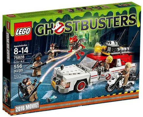 75828 Ecto-1 & 2 (Ghostbusters)