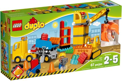 10813 Le grand chantier (Duplo) (Ma Ville) (Construction)