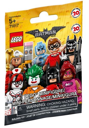 71017 The LEGO Batman Movie Collectable Minifigure (The LEGO Batman Movie) (Minifigurines)