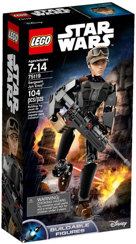 75119 Sergente Jyn Erso (Star Wars) (Rogue One) (Buildable Figures) (Disney)