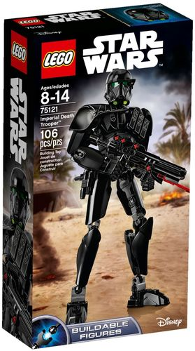 75121 Imperial Death Trooper (Star Wars) (Rogue One) (Buildable Figures) (Disney)