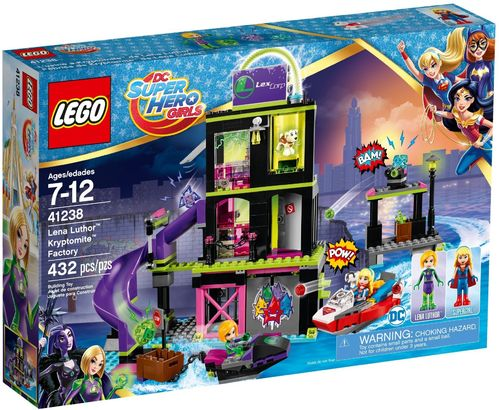 41238 L'usine à Kryptomite de Lena Luthor (DC Super Hero Girls)