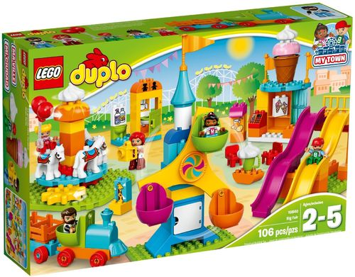 10840 Le parc d'attractions (Duplo) (Ma Ville)