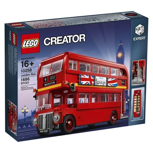 10258 Le bus londonien (London Bus) (Creator) (Expert) (Advanced Models) (Vehicles)