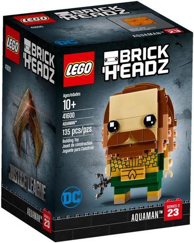 41600 Aquaman (BrickHeadz) (Justice League) (Serie 2 / N°23)
