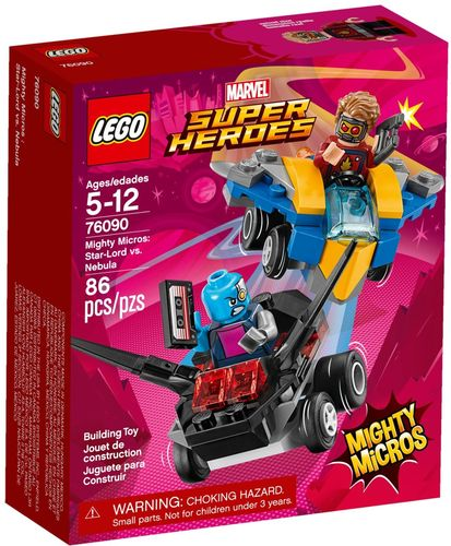 76090 Mighty Micros: Star-Lord contre Nebula (Marvel Super Heroes)
