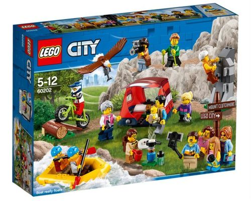60202 Les aventures en plein air - Ensemble de figurines City (City) (Ville)