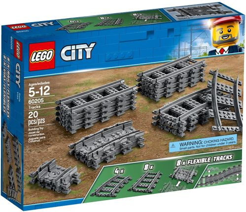 60205 Pack de rails (City) (Trains)