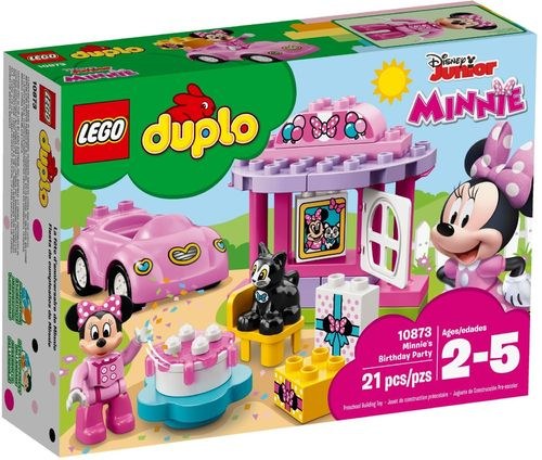 10873 La fête d'anniversaire de Minnie (Duplo) (Mickey Mouse) (Disney Junior)