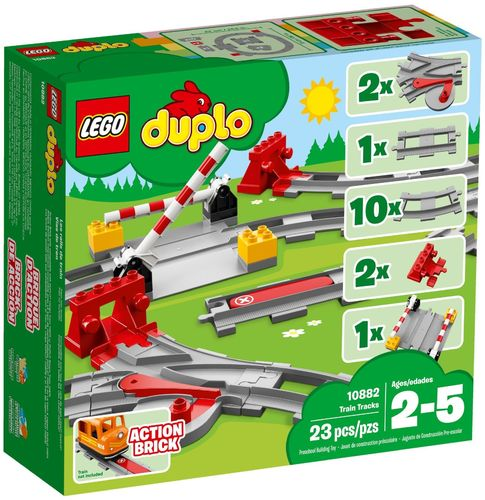 10882 Les rails du train (Duplo) (Ma Ville) (Trains)