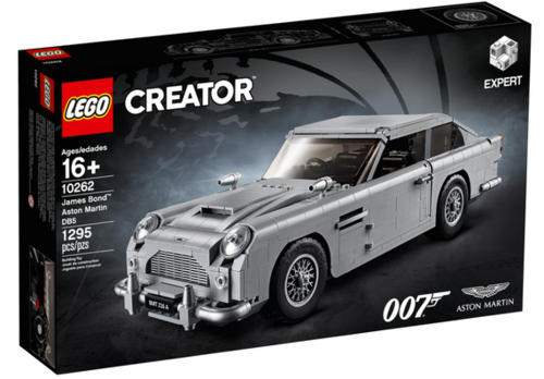 10262 Aston Martin DB5 (James Bond) (Creator) (Expert) (Advanced Models) (Vehicles)