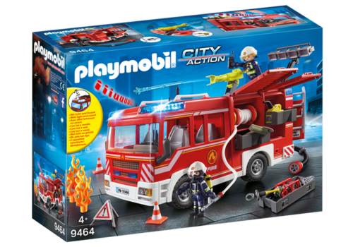 9464 Fourgon d'intervention des pompiers (City Action)