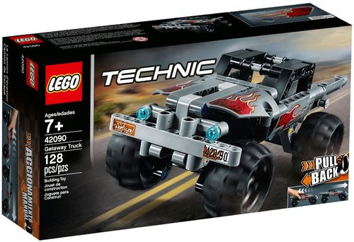 42090 Le pick-up d'évasion (Pull Back) (Technic)
