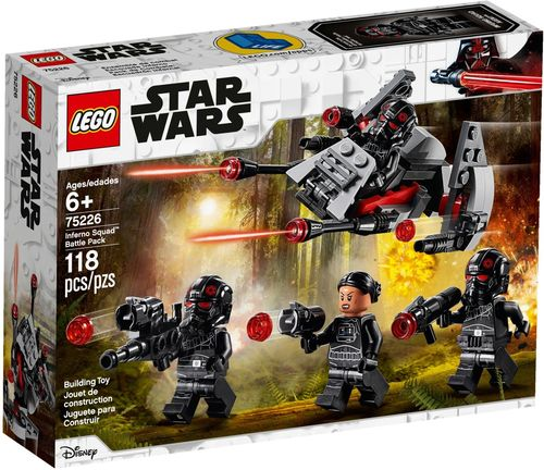 75226 Pack de combat de l'Escouade Inferno (Star Wars) (Disney)
