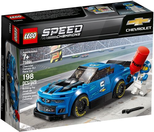 75891 La voiture de course Chevrolet Camaro ZL1 (Speed Champions)