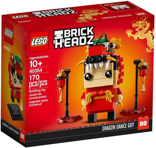 40354 Danseur dragon (BrickHeadz) (N°80)