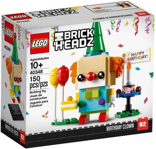 40348 Clown d'anniversaire (BrickHeadz) (N°92)