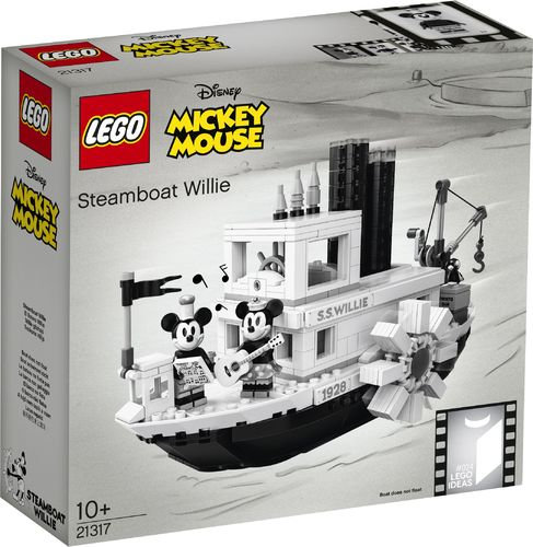 21317 Steamboat Willie (Ideas) (N°025) (Mickey Mouse) (Disney)
