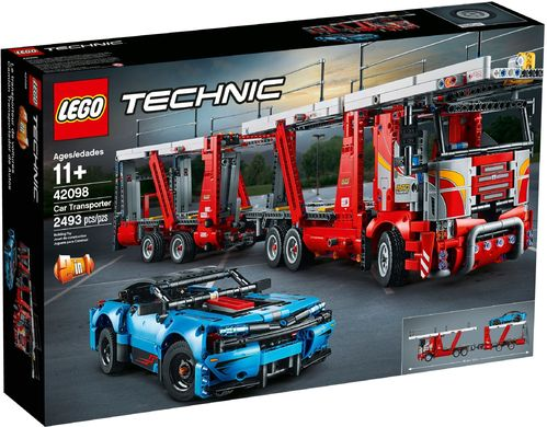 42098 Le transporteur de voitures (Car Transporter) (2-en-1) (Technic)