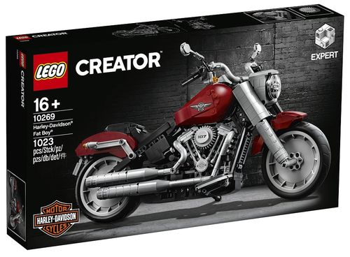 10269 Harley-Davidson Fat Boy (Creator) (Expert) (Advanced Models) (Vehicles)