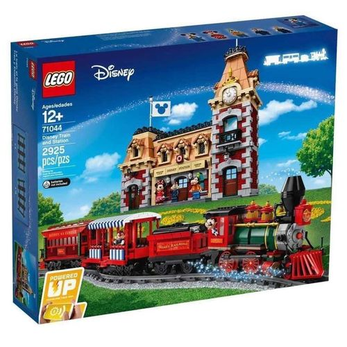 71044 Le train et la gare Disney (Disney Train and Station) (Disney) (Trains) (Powered Up)