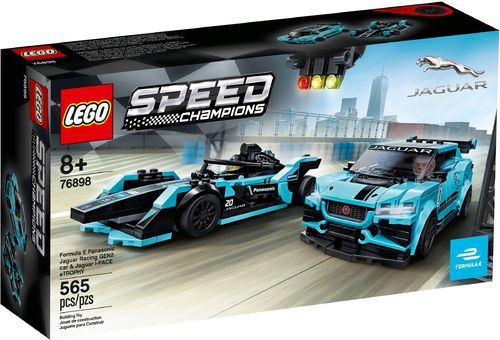 76898 Formula E Panasonic Jaguar Racing GEN2 & Jaguar I-PACE eTROPHY (Speed Champions)