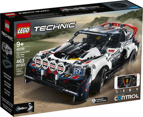 42109 La voiture de rallye contrôlée (App-Controlled Top Gear Rally Car) (Technic) (Control+)