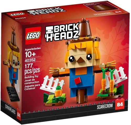 40352 L'épouvantail de Thanksgiving (Scarecrow) (Brickheadz) (N°84)