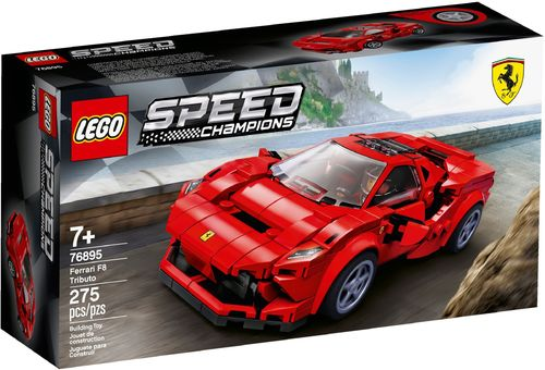 76895 Ferrari F8 Tributo (Speed Champions)