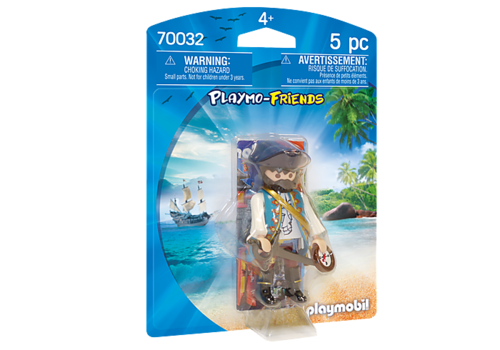 70032 Pirate avec Boussole (Playmo-Friends)