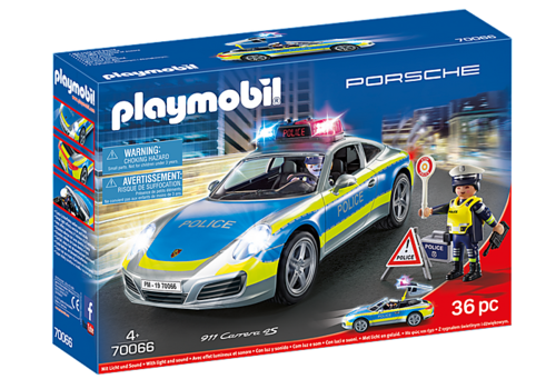 70066 Porsche 911 Carrera 4S Police (Sports & Action)