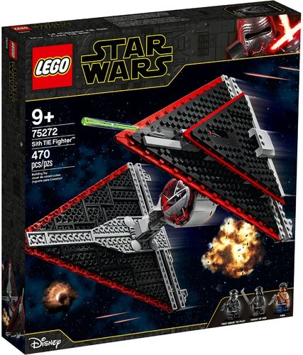 75272 Le chasseur TIE Sith (Star Wars) (Disney)