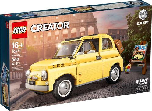10271 Fiat 500 (Creator) (Expert) (Advanced Models) (Vehicles)