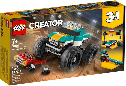 31101 Le Monster Truck (3-en-1) (Creator)