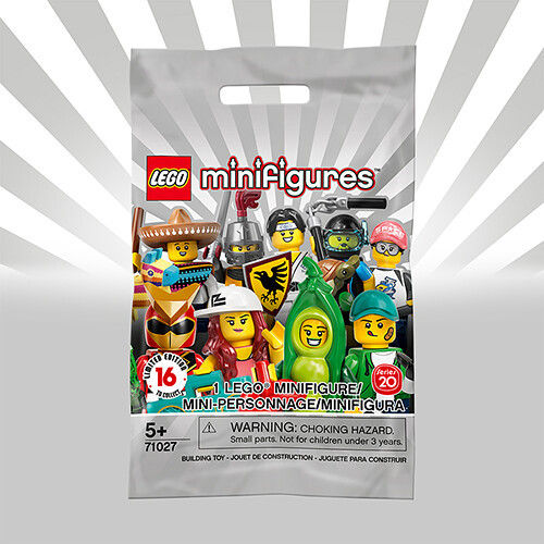 71027 Collectable Minifigure (Série 20) (Minifigurines)