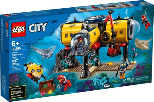 60265 La base d'exploration océanique (City) (Deap Sea Explorers)