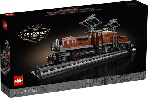 10277 Crocodile Locomotive (Creator) (Expert)