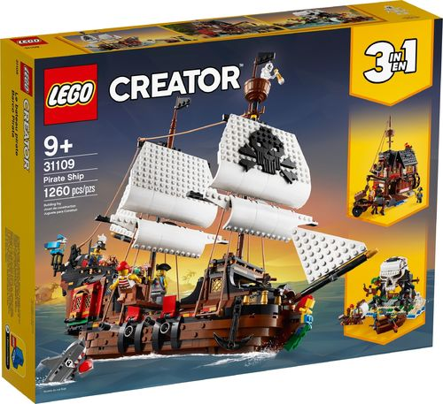 31109 Le bateau pirate (3-en-1) (Creator) (Pirates)