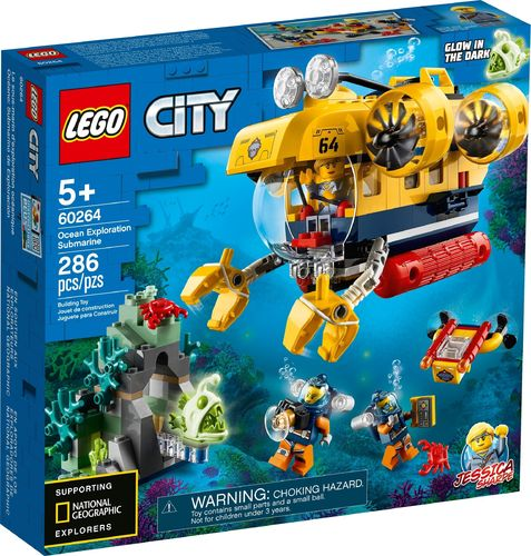 60264 Le sous-marin d'exploration (City) (Deap Sea Explorers)