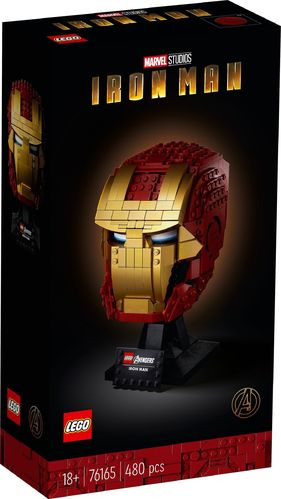 76165 Casque d'Iron Man (Marvel Super Heroes)