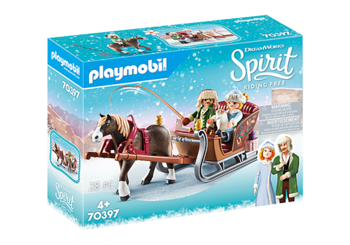 70397 Calèche d'hiver (Spirit Riding Free) (Christmas)