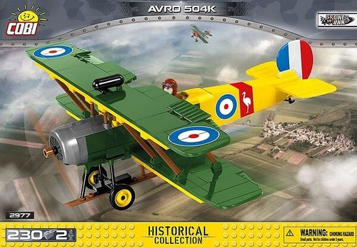 2977 AVRO 504K (Historical Collection)