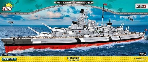 4819 Battleship Bismarck (Historical Collection)