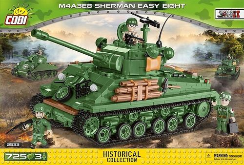 2533 M4A3E8 Sherman Easy Eight (Historical Collection)