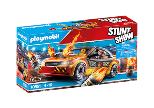 70551 Stuntshow Voiture crash test (Stuntshow)